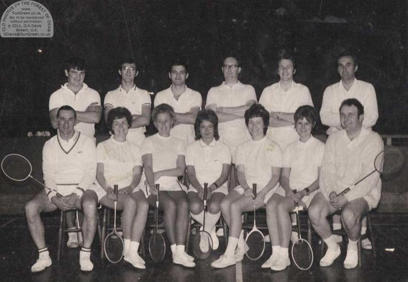 1970 Badminton club members-Jethro Forester