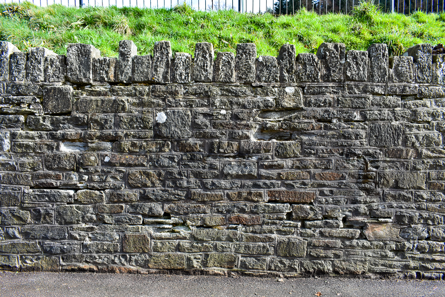 Wall portion