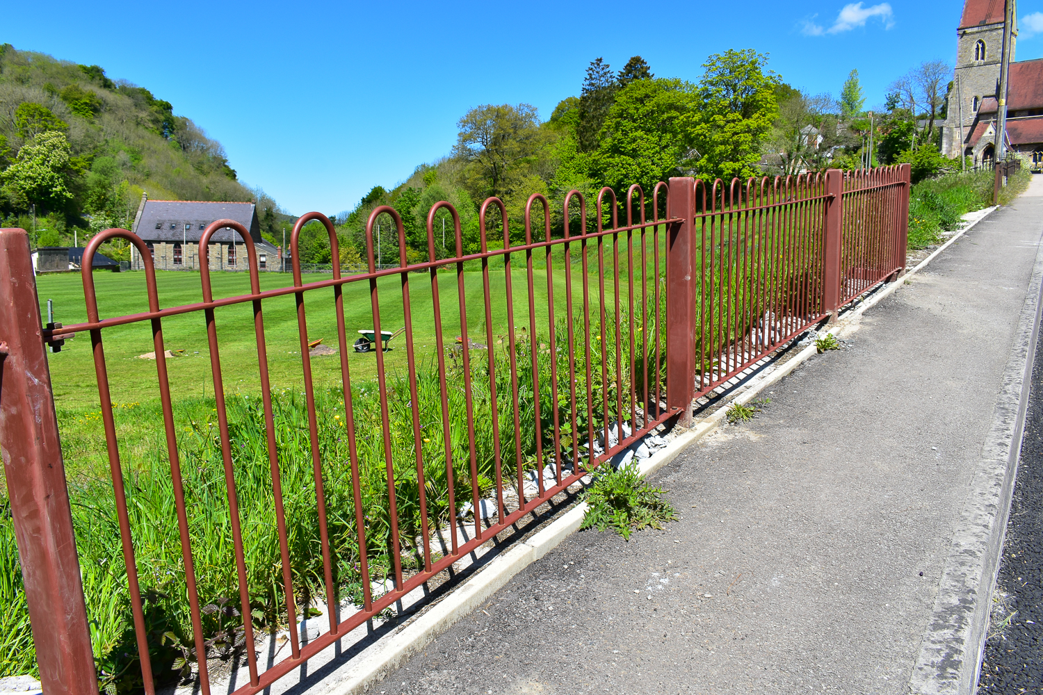 Fence new 2-8636
